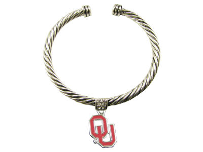 Oklahoma Sooners Gentry Cable Bracelet