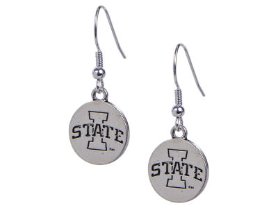 Iowa State Cyclones Gentry Logo Drop Earring