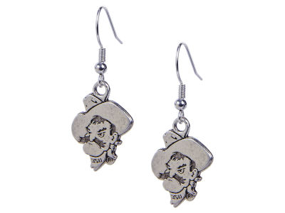 Oklahoma State Cowboys Gentry Logo Drop Earring