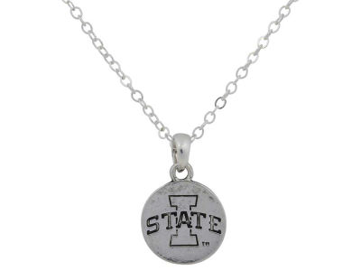 Iowa State Cyclones Gentry Silver Logo Necklace