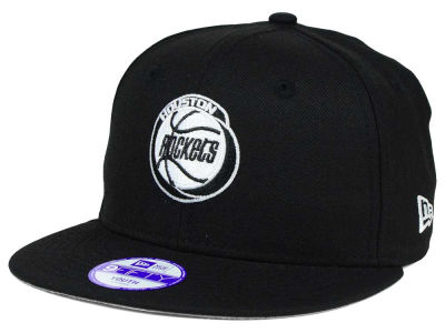 Houston Rockets New Era NBA HWC Youth Black White 9FIFTY Snapback Cap