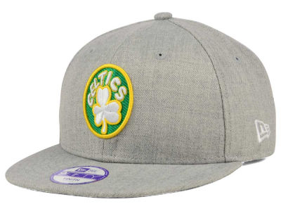 Boston Celtics New Era NBA HWC Youth Heather Team Color 9FIFTY Snapback Cap