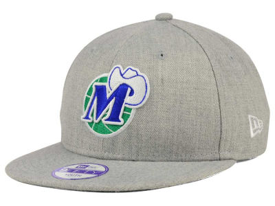 Dallas Mavericks New Era NBA HWC Youth Heather Team Color 9FIFTY Snapback Cap