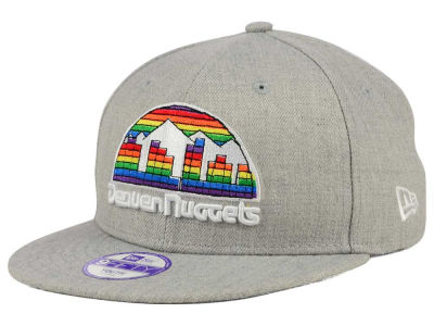 Denver Nuggets New Era NBA HWC Youth Heather Team Color 9FIFTY Snapback Cap
