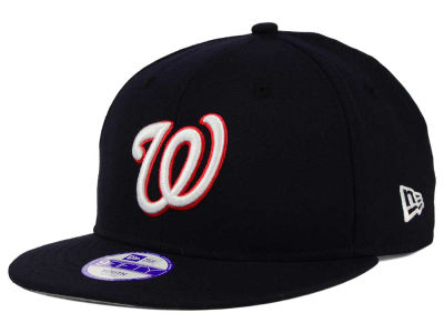 Washington Nationals New Era MLB Youth Major Wool 9FIFTY Snapback Cap