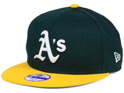 Oakland Athletics New Era MLB Youth Major Wool 9FIFTY Snapback Cap