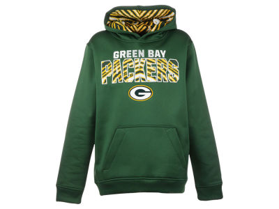 Green Bay Packers NFL Youth Zubaz Flex Hoodie