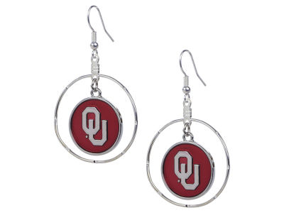 Oklahoma Sooners Gentry Campus Chic Earring