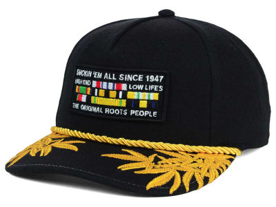 LRG Highly Decorated Snapback Hat