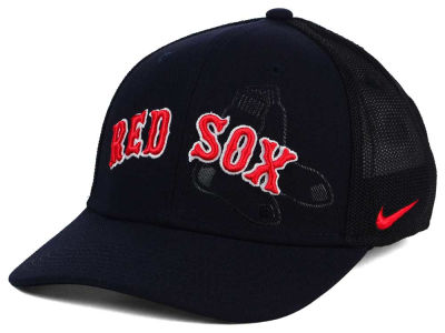 Boston Red Sox Nike NTS Sweet Spot Swooshflex Cap