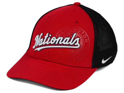 Washington Nationals Nike NTS Sweet Spot Swooshflex Cap