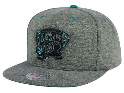 Vancouver Grizzlies Mitchell and Ness NBA Broad Street 2.0 Snapback Cap