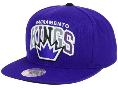 Sacramento Kings Mitchell & Ness NBA Reflective Tri Pop Snapback Cap