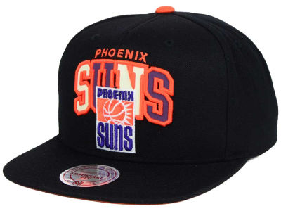 Phoenix Suns Mitchell and Ness NBA Reflective Tri Pop Snapback Cap