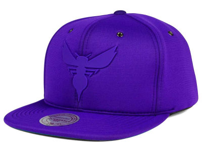 Charlotte Hornets Mitchell and Ness NBA Neoprene Strapback Cap