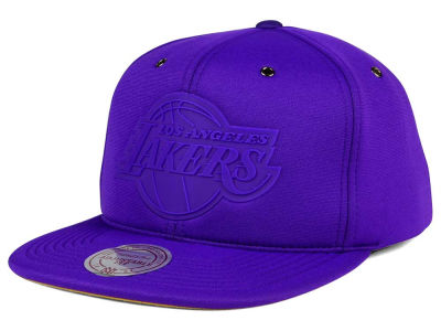 Los Angeles Lakers Mitchell and Ness NBA Neoprene Strapback Cap