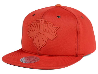 New York Knicks Mitchell and Ness NBA Neoprene Strapback Cap