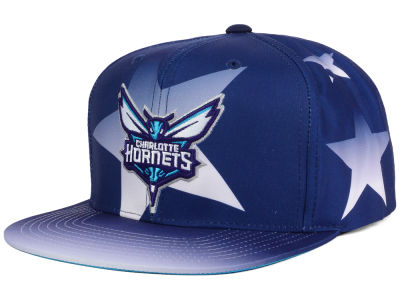 Charlotte Hornets Mitchell and Ness NBA Award Ceremony Snapback Cap
