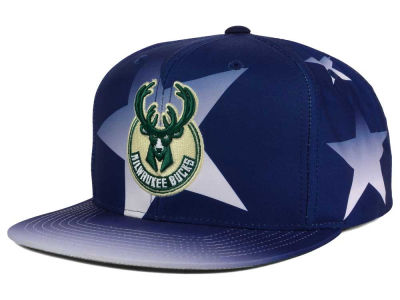 Milwaukee Bucks Mitchell and Ness NBA Award Ceremony Snapback Cap