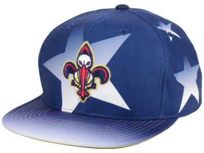 New Orleans Pelicans Mitchell and Ness NBA Award Ceremony Snapback Cap