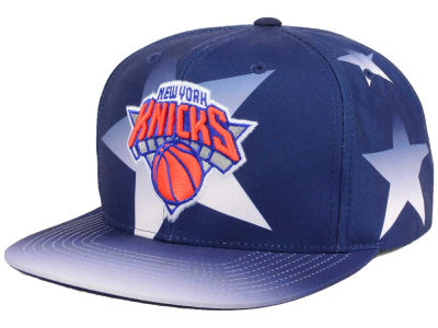 New York Knicks Mitchell and Ness NBA Award Ceremony Snapback Cap