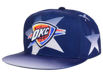 Oklahoma City Thunder Mitchell and Ness NBA Award Ceremony Snapback Cap