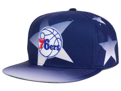 Philadelphia 76ers Mitchell and Ness NBA Award Ceremony Snapback Cap