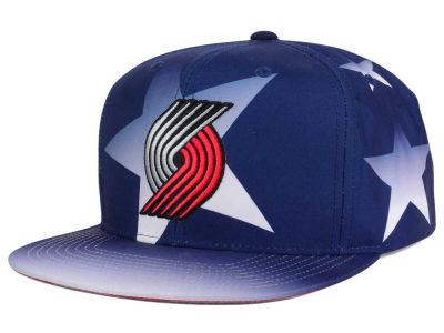 Portland Trail Blazers Mitchell and Ness NBA Award Ceremony Snapback Cap
