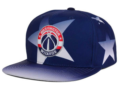 Washington Wizards Mitchell and Ness NBA Award Ceremony Snapback Cap