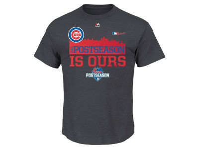 Chicago Cubs MLB 2015 Youth Wild Card Locker Room T-Shirt