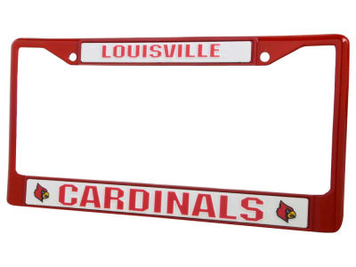 Louisville Cardinals Chrome Frame