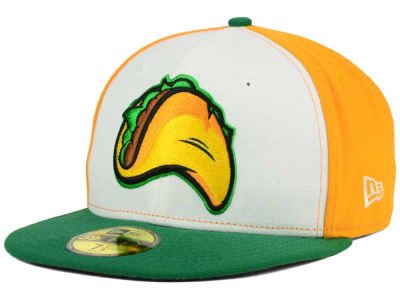 Fresno Grizzlies Fresno Tacos New Era MiLB AC 59FIFTY Cap