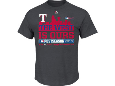 Texas Rangers MLB Youth Division Champ T-Shirt