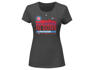 Chicago Cubs Majestic MLB 2015 Womens Wild Card T-Shirt