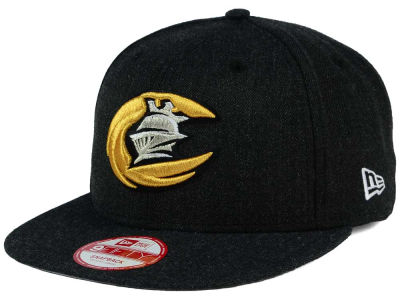 Charlotte Knights New Era MiLB Heather Action 9FIFTY Snapback Cap
