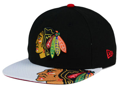 Chicago Blackhawks New Era NHL Gym Class Snap 9FIFTY Cap