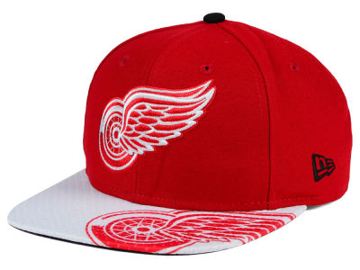 Detroit Red Wings New Era NHL Gym Class Snap 9FIFTY Cap