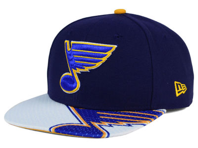 St. Louis Blues New Era NHL Gym Class Snap 9FIFTY Cap