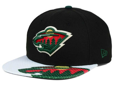 Minnesota Wild New Era NHL Gym Class Snap 9FIFTY Cap