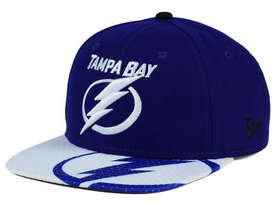 Tampa Bay Lightning New Era NHL Gym Class Snap 9FIFTY Cap