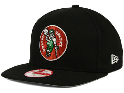 Boston Celtics New Era NBA Flag Stated 9FIFTY Snapback Cap