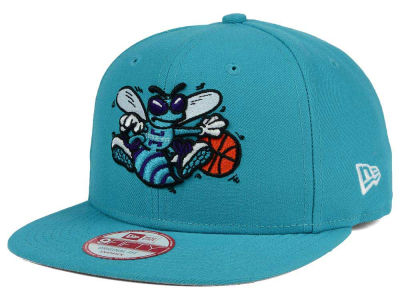 Charlotte Hornets New Era NBA Flag Stated 9FIFTY Snapback Cap