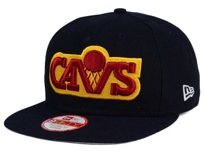 Cleveland Cavaliers New Era NBA Flag Stated 9FIFTY Snapback Cap