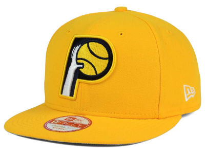 Indiana Pacers New Era NBA Flag Stated 9FIFTY Snapback Cap