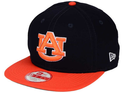 Auburn Tigers New Era NCAA Shore Snapper 9FIFTY Snapback Cap