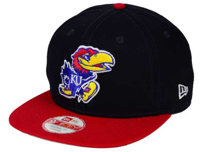 Kansas Jayhawks New Era NCAA Shore Snapper 9FIFTY Snapback Cap
