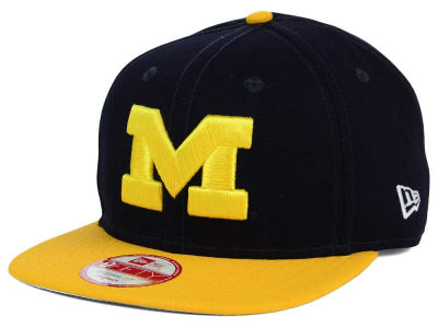 Michigan Wolverines New Era NCAA Shore Snapper 9FIFTY Snapback Cap