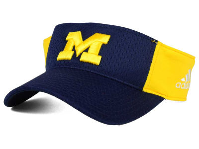 Michigan Wolverines adidas NCAA Train Me Visor