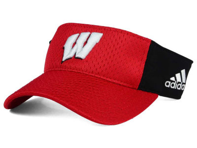 Wisconsin Badgers adidas NCAA Train Me Visor