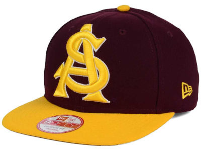 Arizona State Sun Devils New Era NCAA Logo Grand Redux 9FIFTY Snapback Cap